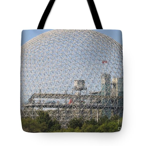 The Biosphere  Ile Sainte-helene Montreal Quebec Tote Bag