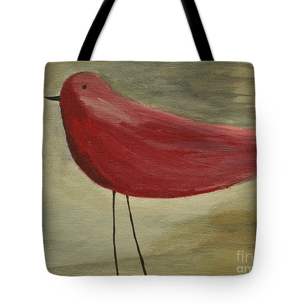 The Bird - Original Tote Bag by Variance Collections