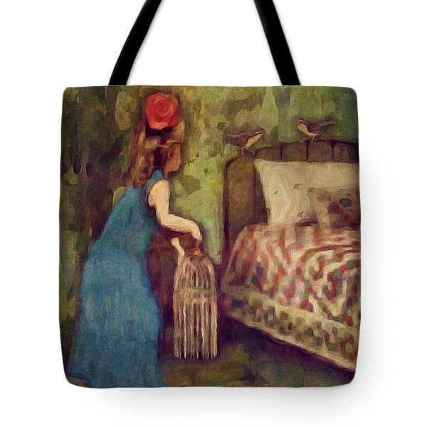 The Bird Catcher Tote Bag