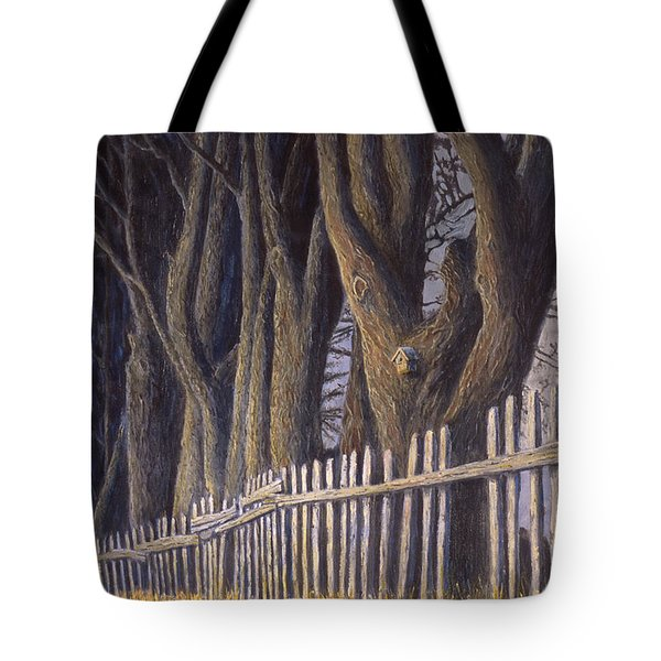 The Bird House Tote Bag by Jerry McElroy