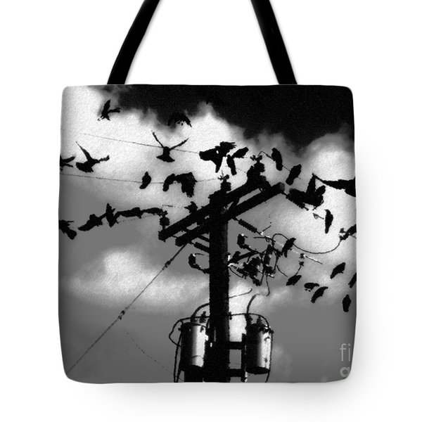 The Birds Tote Bag by David Lee Thompson