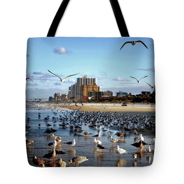 The Birds Tote Bag by Jim Hill