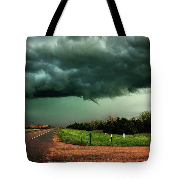 The Birth Of A Funnel Cloud Tote Bag