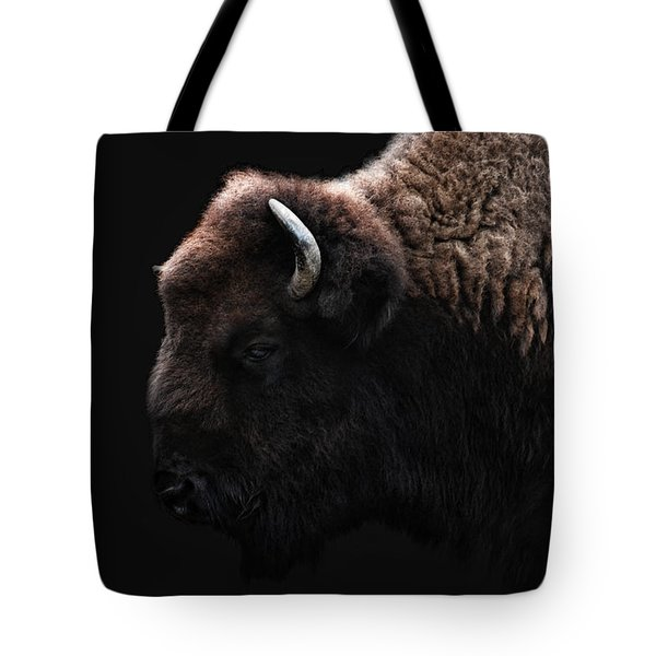 The Bison Tote Bag by Joachim G Pinkawa