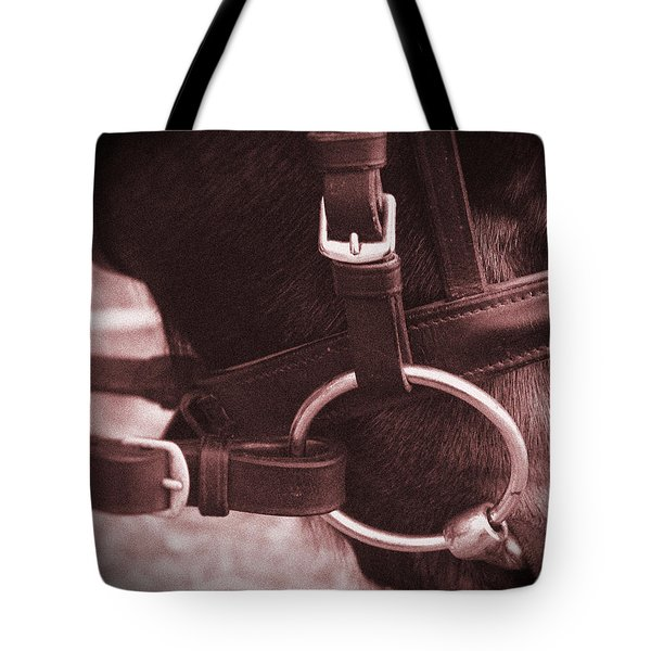 The Bit Tote Bag by Roena King