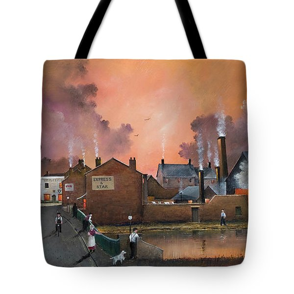 The Black Country Village Tote Bag