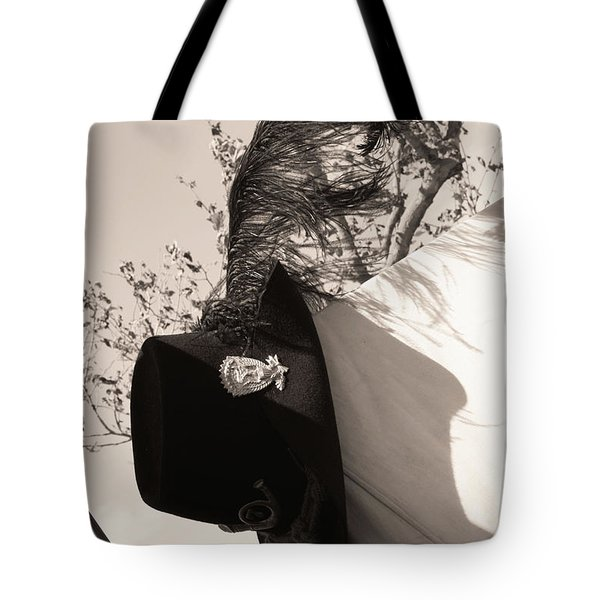 The Black Hats Tote Bag by Tommy Anderson