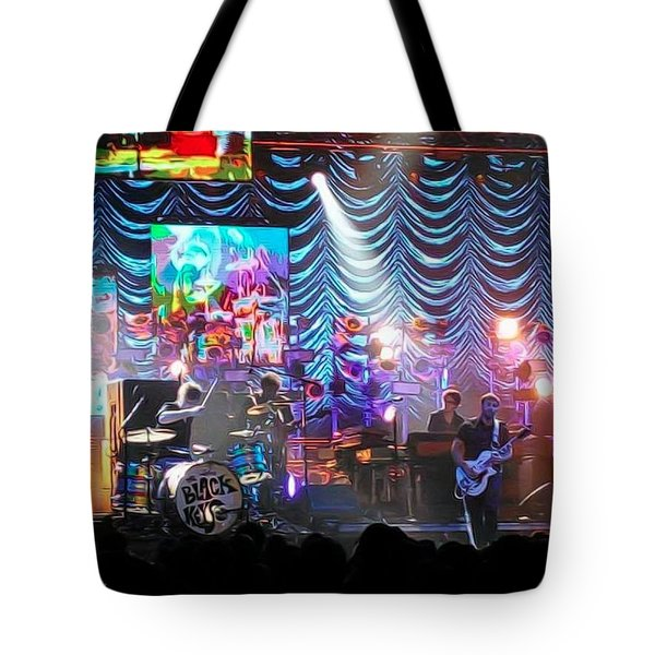 The Black Keys Kcmo Tote Bag