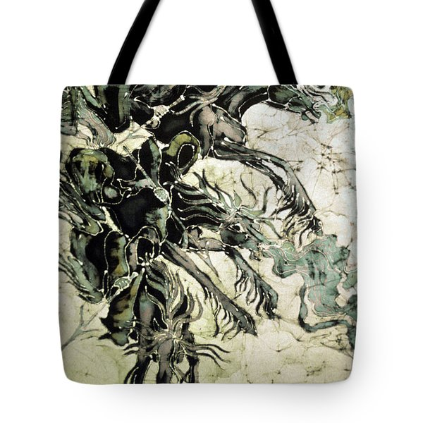 The Black Riders Descend Tote Bag