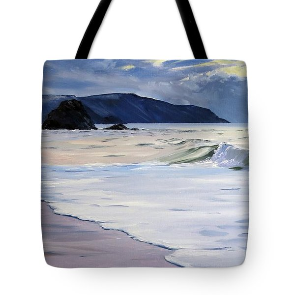 The Black Rock Widemouth Bay Tote Bag