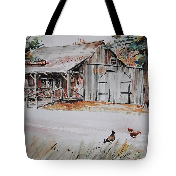 The Blacksmith Shoppe Tote Bag