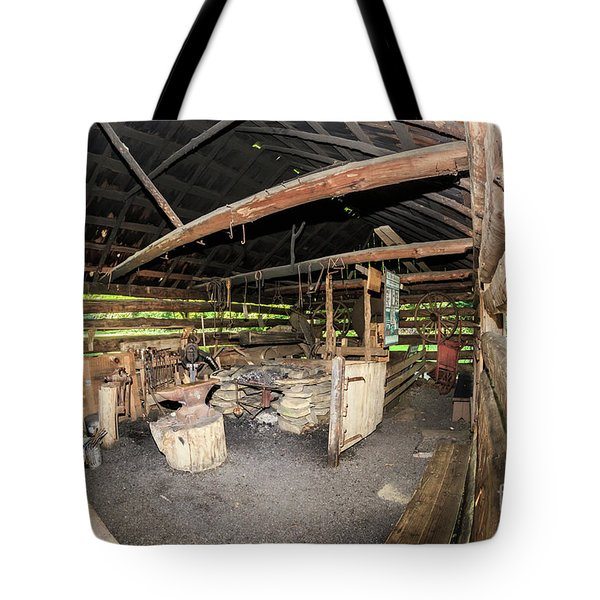 The Blacksmith's Shed Tote Bag