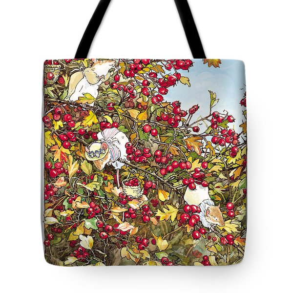 The Blackthorn Bush Tote Bag