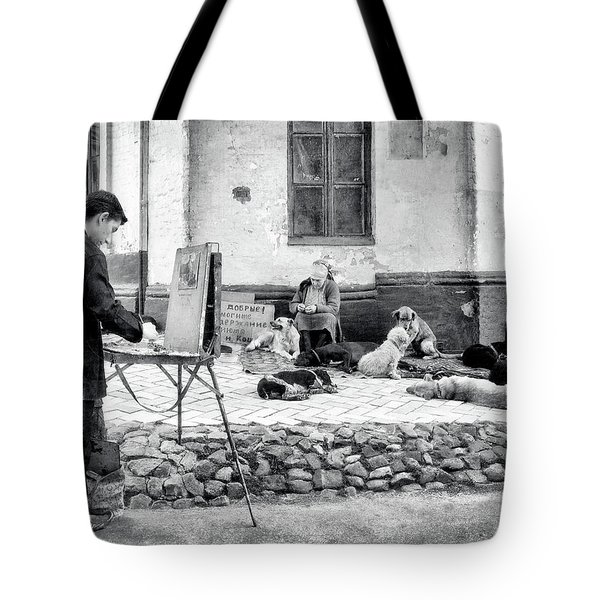 The Blind Side Tote Bag