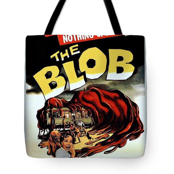 The Blob  Tote Bag by Movie Poster Prints