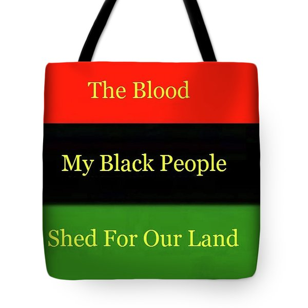 The Blood Tote Bag