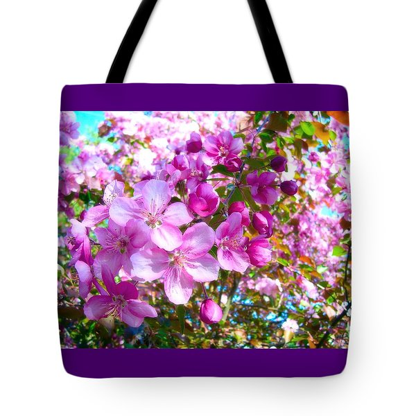 The Blossoms Of Spring Tote Bag