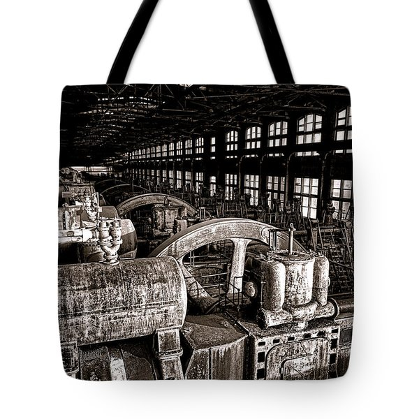 The Blower House At Bethlehem Steel  Tote Bag