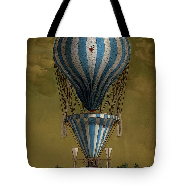 The Blue Balloon Tote Bag