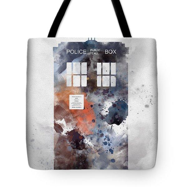 The Blue Box Tote Bag