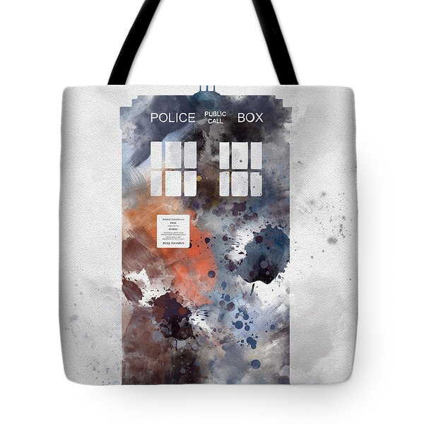 The Blue Box Tote Bag