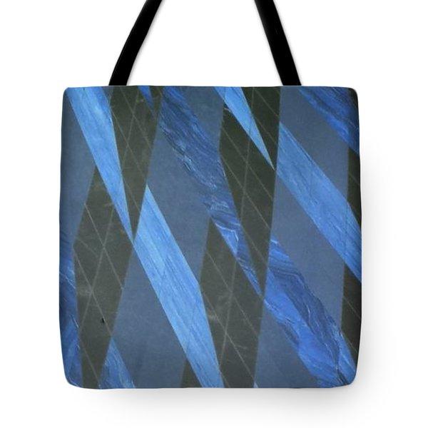 The Blue Dimension Tote Bag