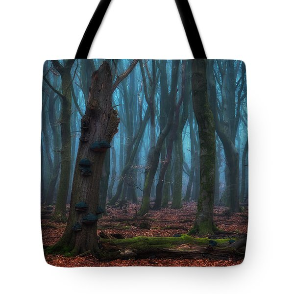 The Blue Forest Tote Bag