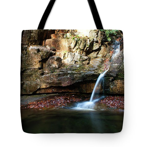 The Blue Hole In November #2 Tote Bag by Jeff Severson