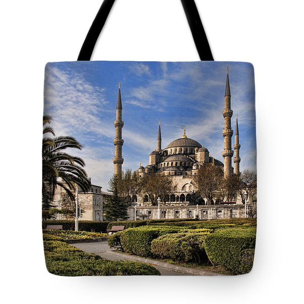 The Blue Mosque In Istanbul Turkey Tote Bag