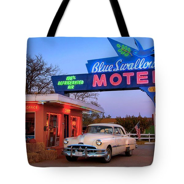 The Blue Swallow Tote Bag