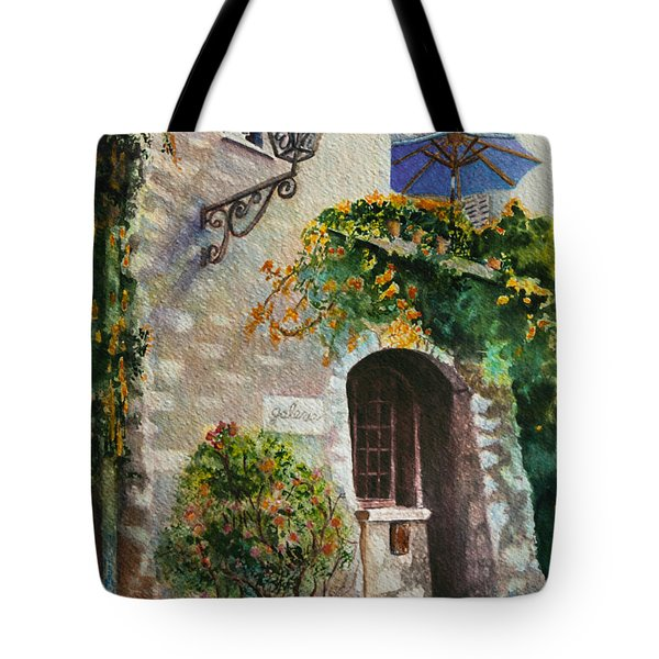 The Blue Umbrella Tote Bag