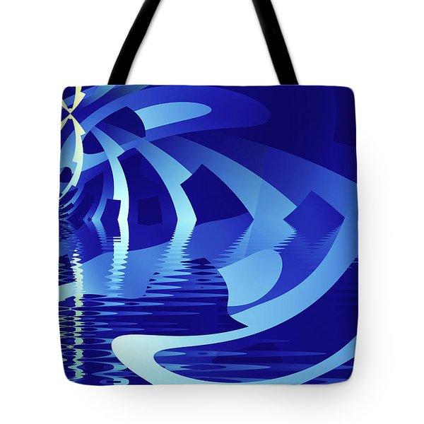The Blue Pool Tote Bag