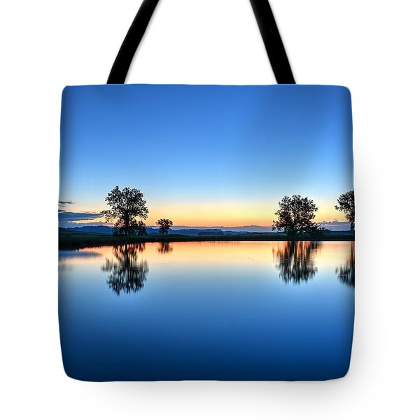 The Blues Tote Bag by Fiskr Larsen