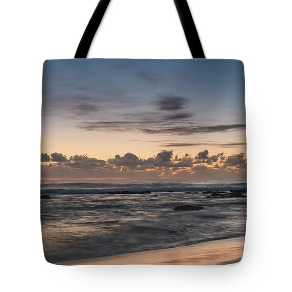 The Blues - Sunrise Seascape  Tote Bag