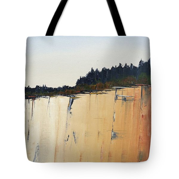 The Bluff Tote Bag by Carolyn Doe