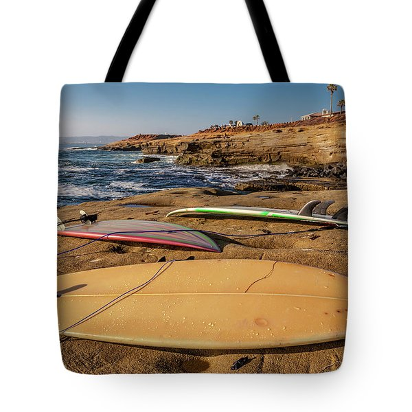 The Boards Tote Bag by Peter Tellone