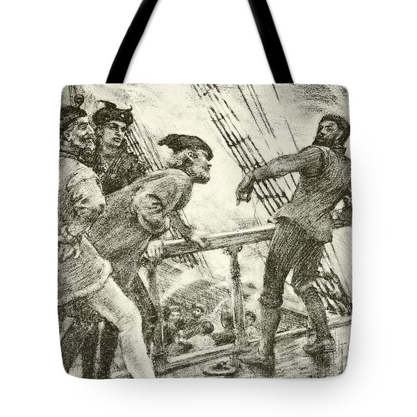 The Boatswain Tote Bag