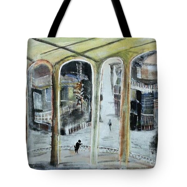 The Bohemian And His Dog Friendship Unlimited Tote Bag