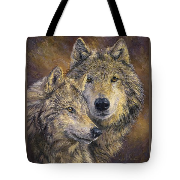 The Bond Tote Bag by Lucie Bilodeau