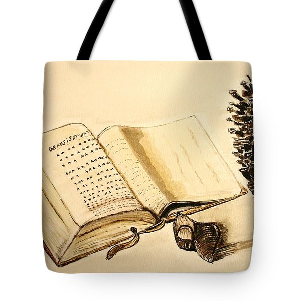 The Book Of Books. Tote Bag