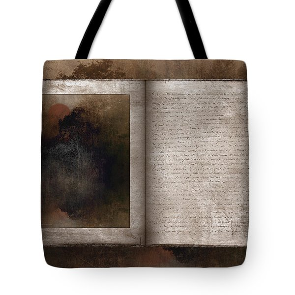 The Book Of Life Tote Bag by Ron Jones