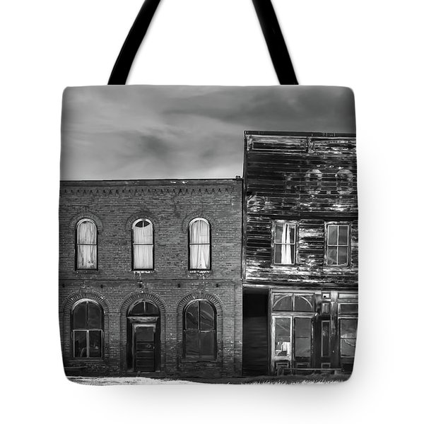 The Boot Building Tote Bag by Marius Sipa