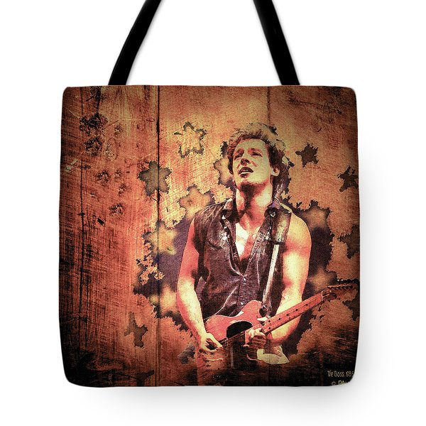 The Boss 1985 Tote Bag by Paula Ayers