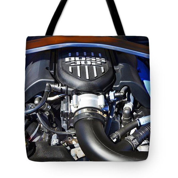 The Boss 302 Mustang Tote Bag