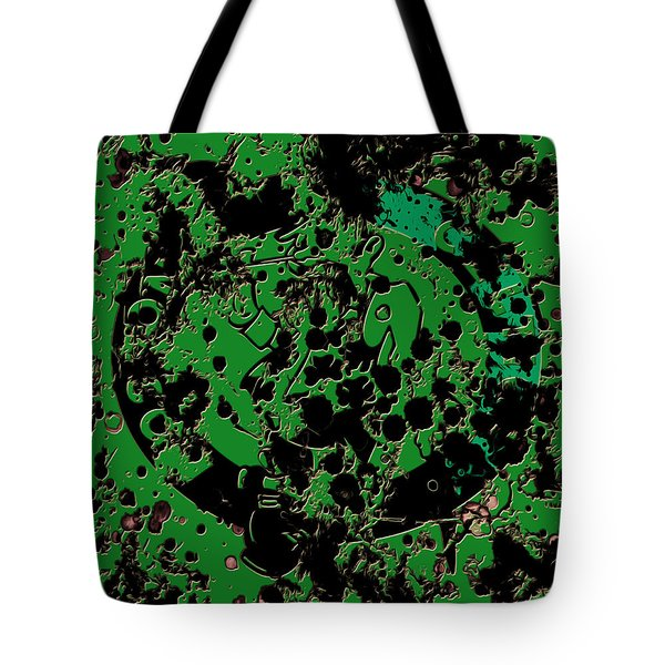 The Boston Celtics 6c Tote Bag by Brian Reaves