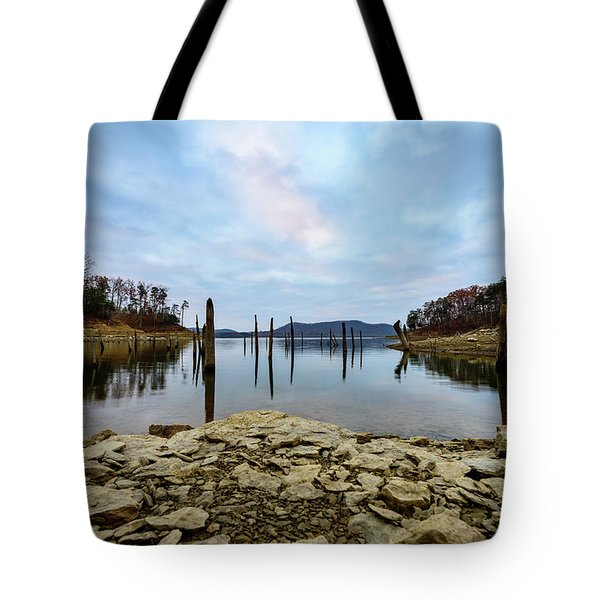 The Bottom Of The Lake Tote Bag