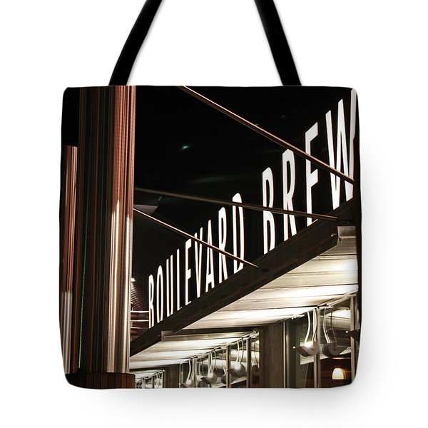 The Boulevard Deck Tote Bag