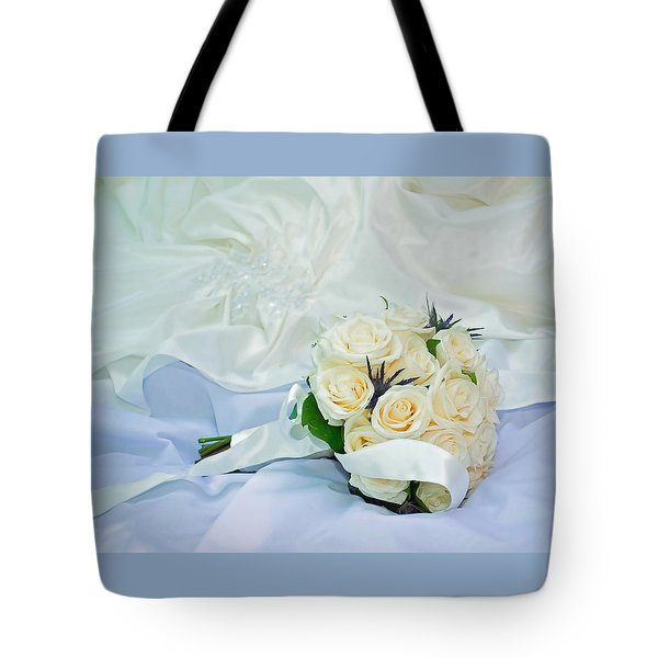 The Bouquet Tote Bag by Keith Armstrong