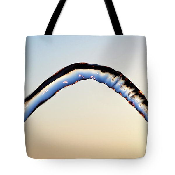 Tote Bag featuring the photograph The Bow by Rico Besserdich