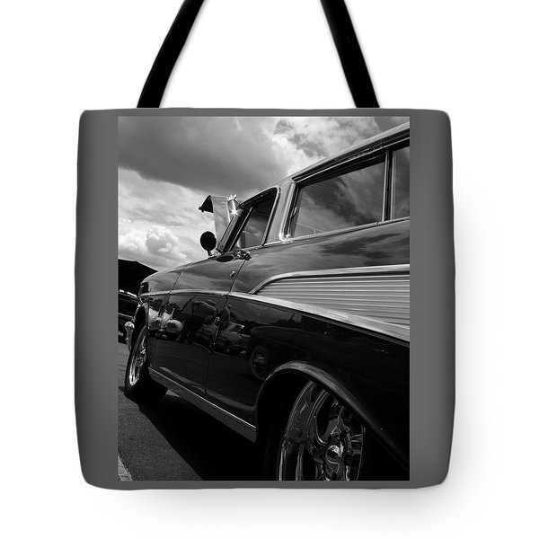 Tote Bag featuring the digital art The Bowtie by Steve Godleski